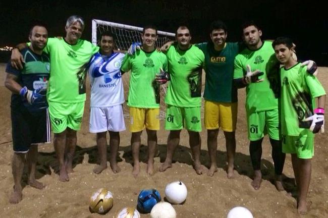 Fernando, Marcelão, Mateus, Ciro, Pyter, Pierre, Diego e Gustavo