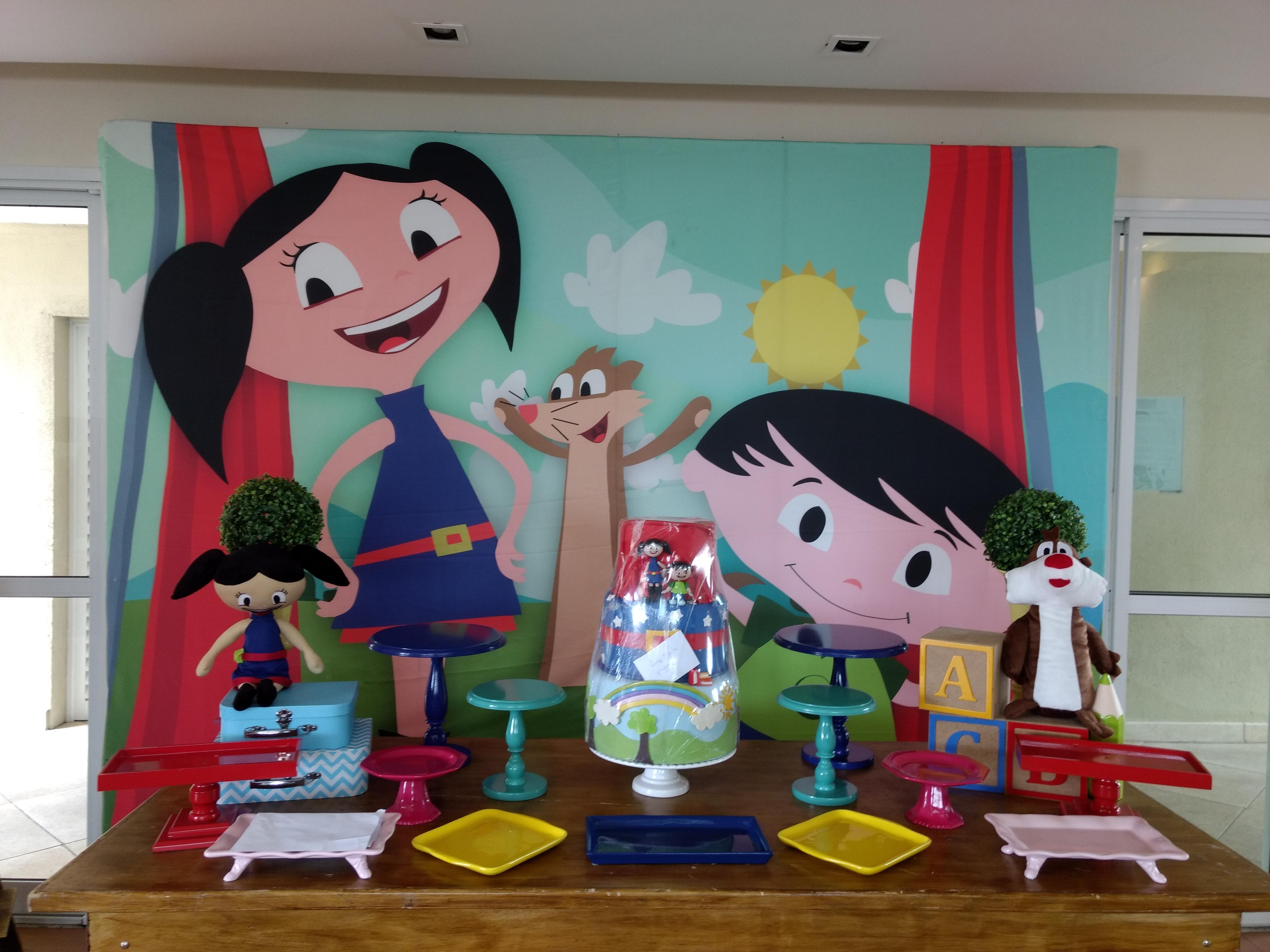 aluguel locação festa infantil show da luna