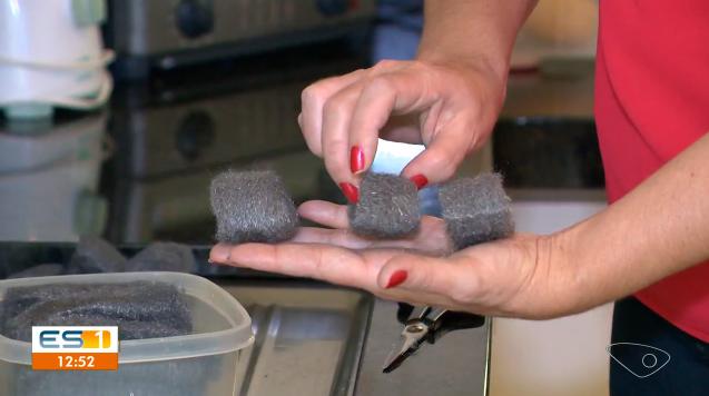 faça sua esponja de aço durar mais