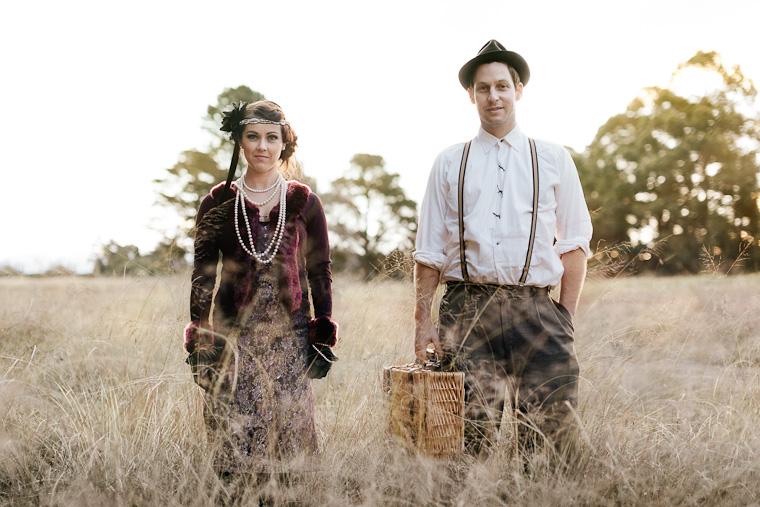 Ben & Bianca's 1920s Vintage Prewedding
