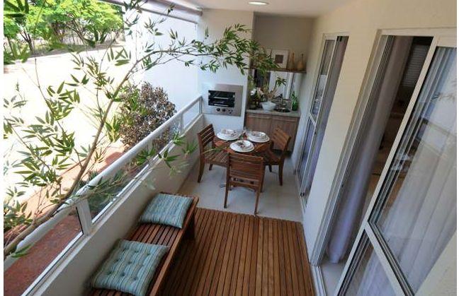 Como decorar varanda de apartamento pequeno thanadecor for Bancos para terrazas pequenas