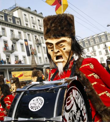 Luzerner Fasnachtsumzug Lucerne's Carnival parade