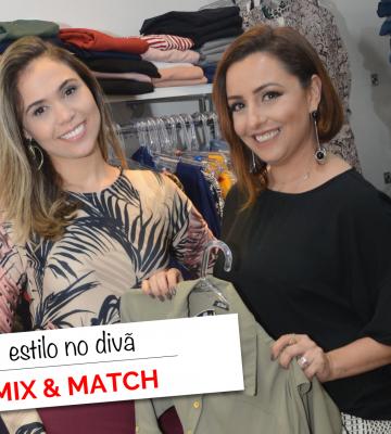 Mix and Match - Estilo no Divã