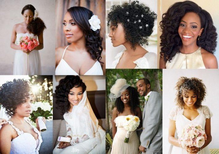 Maquiagem E Penteado De Noiva Para Morenasnegras Vamos