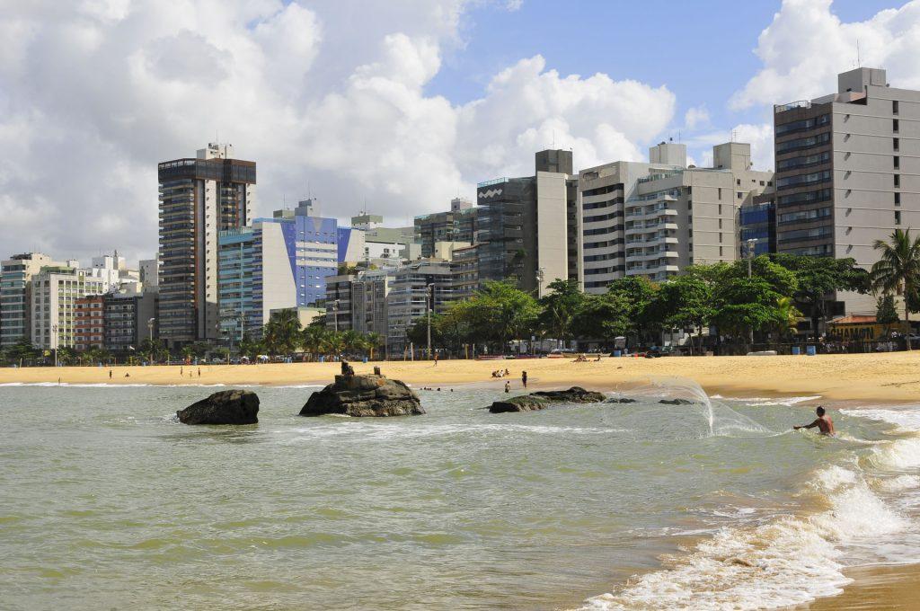 Praias de Vila Velha. Foto: Wilton Prata / Estúdio Gazeta