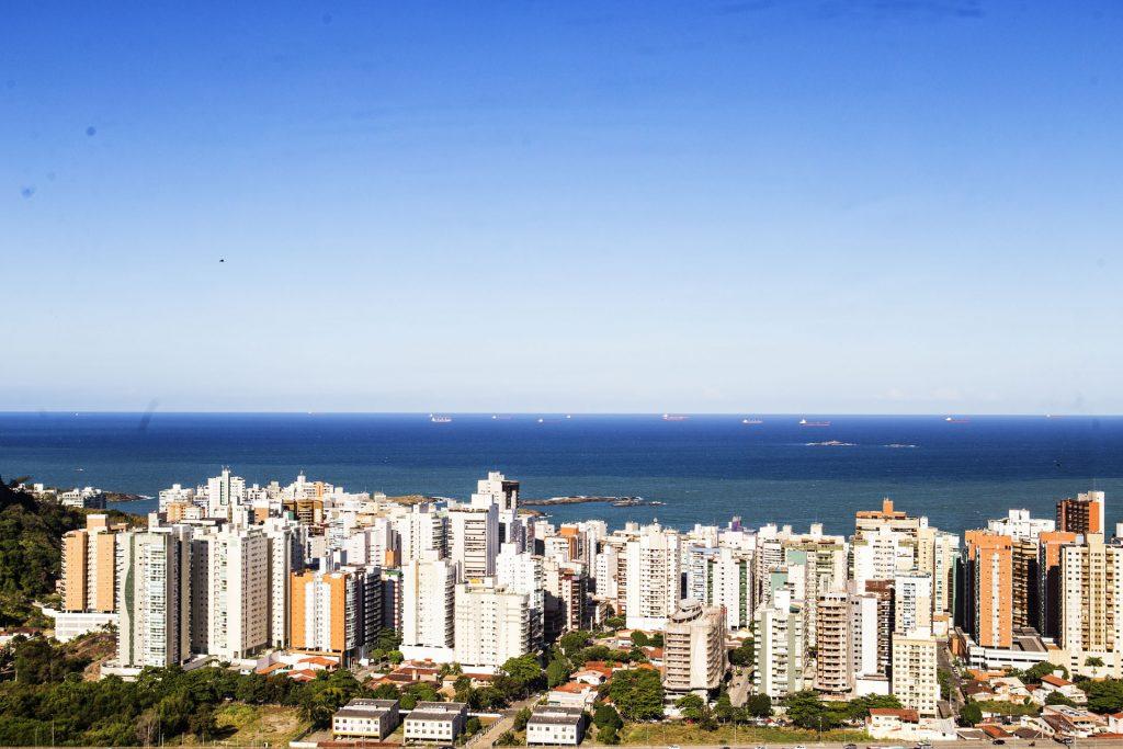 Vista do litoral. Foto: Wilton Prata / Estúdio Gazeta
