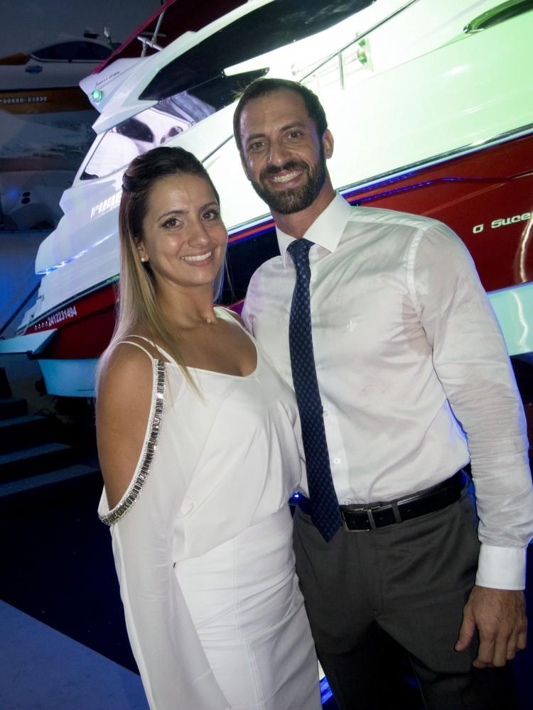 Carol Boaventura e Rafael Tedesco