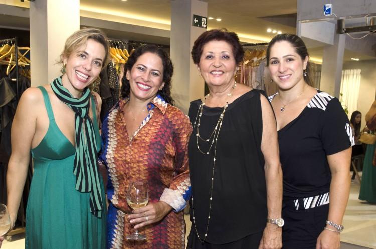Rosa Nina Liebermann, Flavia e Janete Carvalhinho e Mariana Sandri