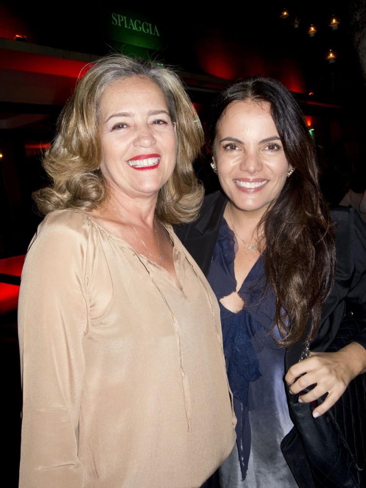 Monika Serrão e Ana Paula Castro. Foto: Mônica Zorzanelli