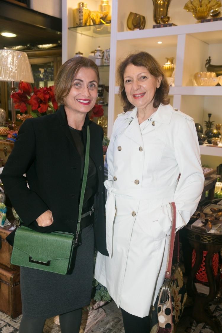 Maria Teresa Nader e Celia Colodete. Foto: Mônica Zorzanelli